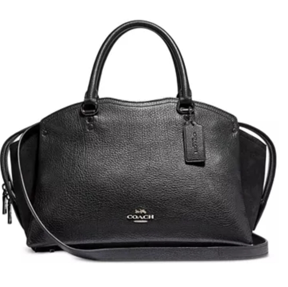 Coach Handbags - Coach Mixed Leather Drew handbag